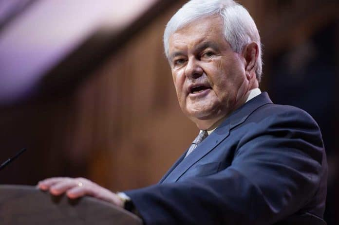 Newt Gingrich Says Trump Impeachment Will Backfire For Democrats